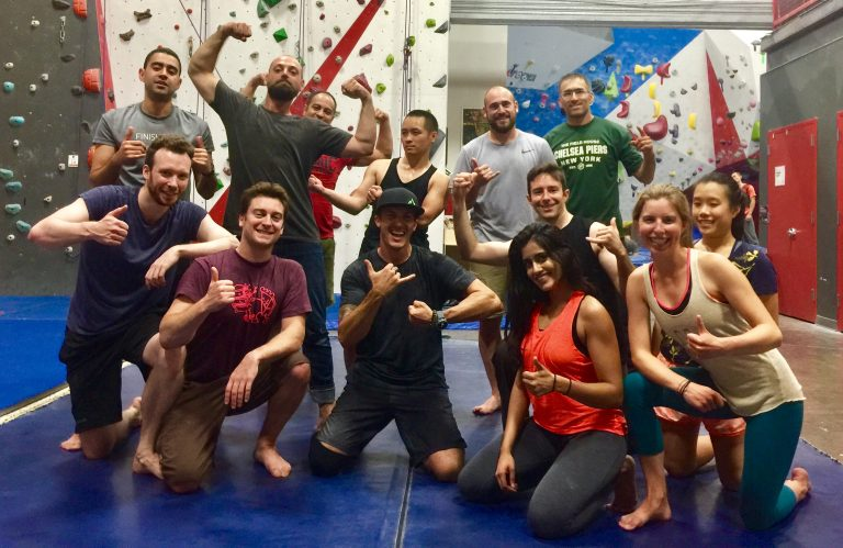 David Mykel CliffHanger Academy Experiential leadership development learning Rock Climbing NYC New York City LA Los Angeles