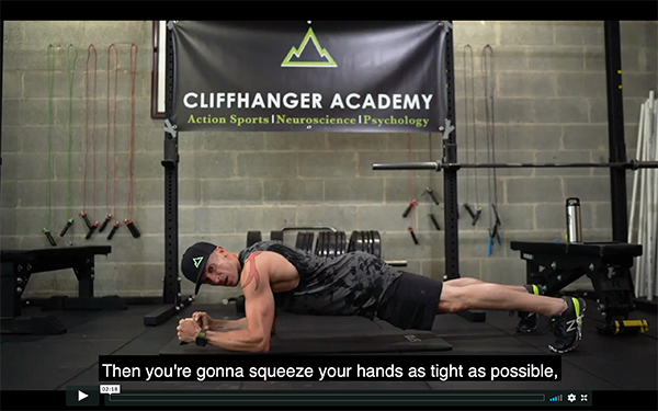 Core Abs Mobility Workout: Hardstyle Plank – CliffHanger Academy Psy-Fi™ Fitness Tips